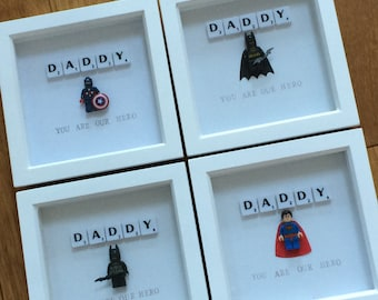 Fathers Day Superhero Frame