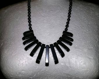 Black Onyx Stone Necklace