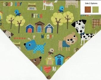 Dog Playground Bandana| Custom Dog Bandana | Custom Custom Dog Bandana
