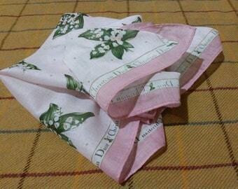 Vintage Christian Dior Handkerchief