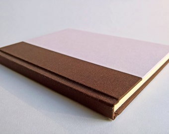 Brown/Pink Notebook Paper Cover