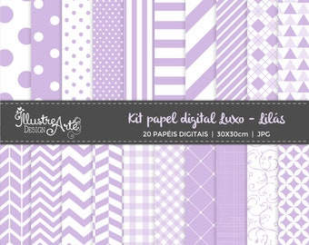 Digital Paper Basic Purple