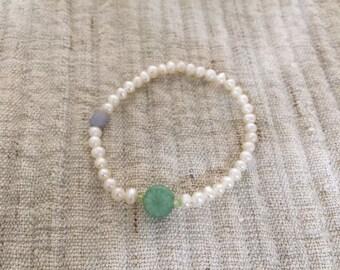 REAL Aventrine  Poppy piece bracelet (Only one)
