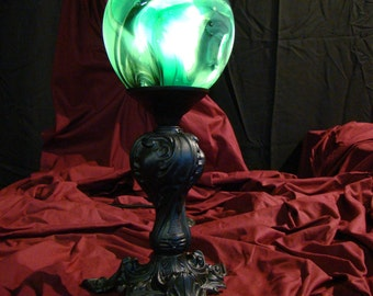Light fixture (bronze/blown glass)