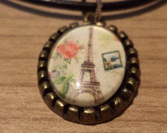 Chain Eiffel Tower, necklace, Paris, Tour Eiffel