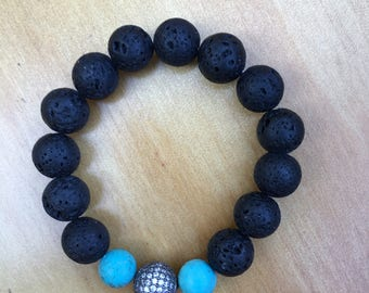 Black Earth  Bracelet