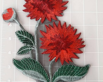 Beatiful Embroider FLOWER PATCH Sew.