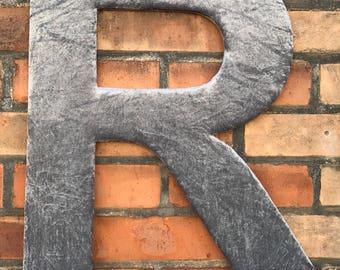 Crushed Velvet 30cm Letter