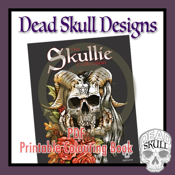 The Skullie Collection - Full Printable Colouring Book