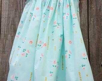 Spring Flutter Sleeve Dress