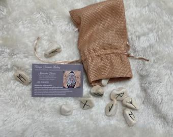 Rune - River Stones + Bag