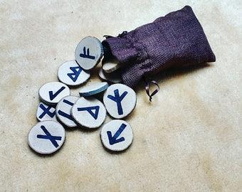 Wood Rune + Bag