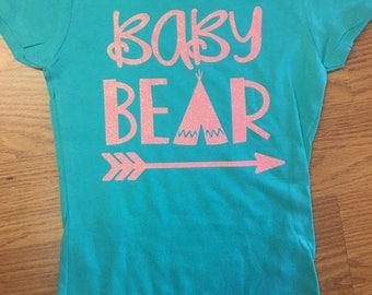 Baby Bear Glitter Tee