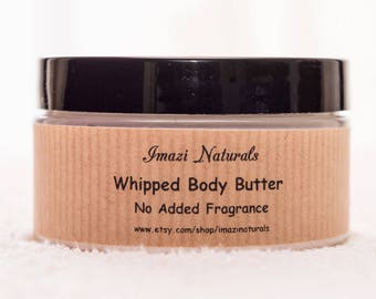 Body Butter, Natural Body Butter, Unscented Body Butter, Whipped Body Butter, Vegan Body Butter, Shea Butter, Cream Body Butter, 100ml