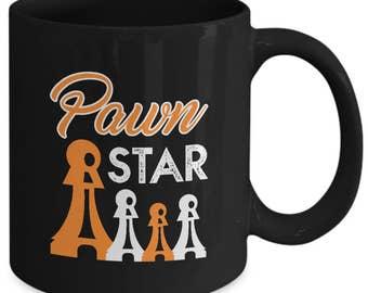 Pawn Star Mug, Chess Coffee Cup