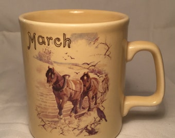 The Country Diary of an Edwardian Lady Mug- March