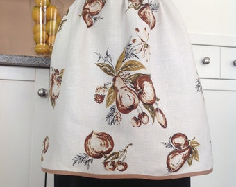Fashionably Fall Linen Apron & Kitchen Towels