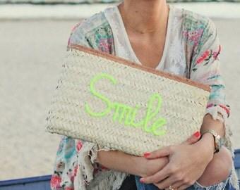 Straw clutch SMILE