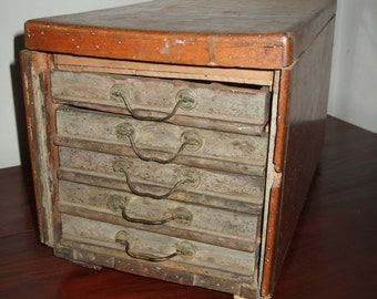 Old french furnish pharmacy/drugstore test tube wood drawers old furniture craft drawers antique/vintage pharmacy test-tube chemist