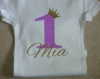 1st Birthday Onesie