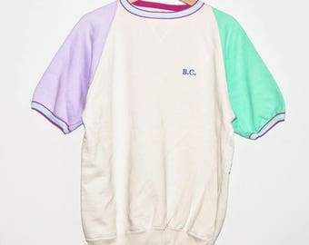 BEST COMPANY Short Sleeve Sweater