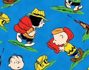 Camp Peanuts Character Toss - 1 5/8 Yards