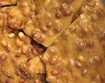Thin Homemade Peanut Brittle