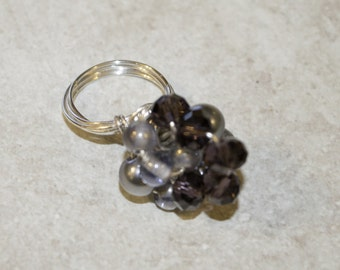 Cluster Twist Ring