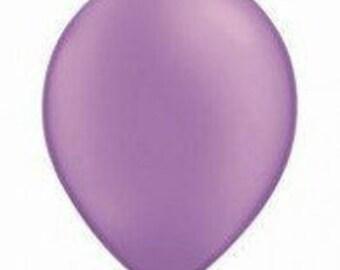 28cm Neon Violet Latex balloon