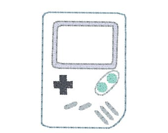Feltie Embroidery Design - Objects - Embroidery Design - Gaming Boy