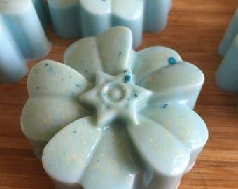 Triple Butter Coconut Oil Flower Soap