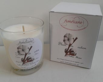 Cotton blossom scented candle / Perfumed candle Cotton Flower