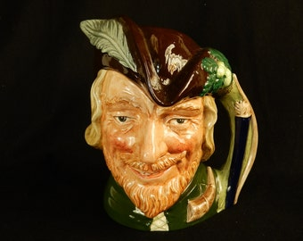 "Toby Character Jug (Large) ~ ""Robin Hood"" ~ Royal Doulton D6623 ~ #TOBY_J08"