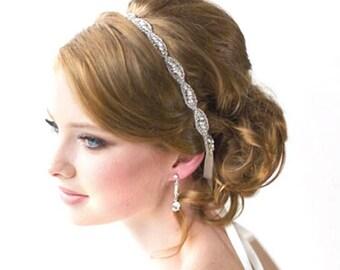 Crystal Bride Wedding Headband Tiara Bride Rhinestone Hair band