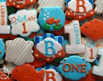 "Fish ""OFishally"" birthday - 1 dozen"
