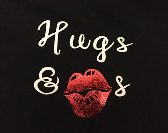 Hugs and Kisses Valentine's Day Shirt