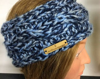 Women's Thick Knitted Cable Headband