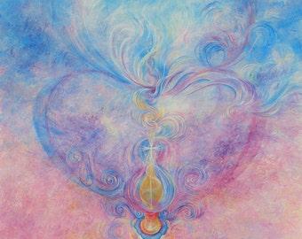 "Fine art print, ""Alchemy of the heart"""