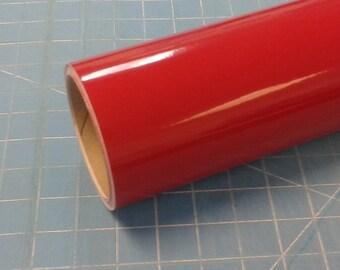 "Dark Red Oracal 651 12"" x 5' (5 feet) Roll * Sign Vinyl * Decal Vinyl"