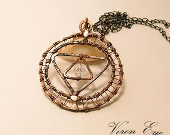 Protection symbol  Necklace