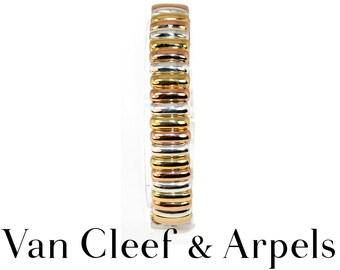 Bracelet yellow gold 18K pink and grey 18 K Van Cleef and Arpels