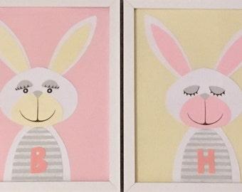Two happy bunnies