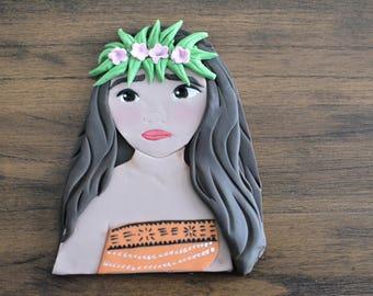 Moana Inspired Cake Topper