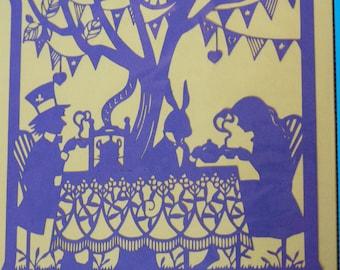 Handmade Disney Papercut, Nursery Home Decor, Papercutting