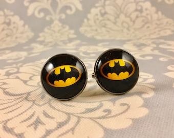 Batman Cufflinks - Large (20mm) or Medium (14mm)