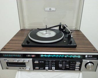 Vintage Gran Prix Fully Automatic Compact Turntable/Very Good Working Condition