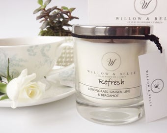 Refresh Aromatherapy Soy Candle