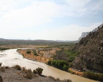 Dang Near Free! Digital download view from Santa Elena Canyon