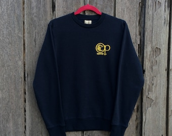 Vintage ocean pacific sunwear spell out big logo sweatshirt