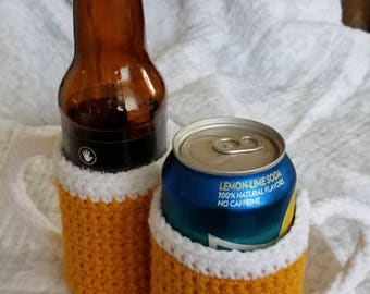 Beer Glass bottle/can Cozy